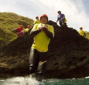 Barefoot Coasteering